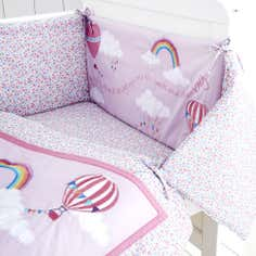 Kids Up and Away Collection Coverlet and Bumper