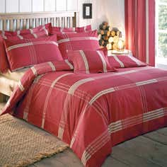 Red Blake Collection Duvet Cover Set