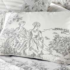 Grey Frances Collection Boudoir Cushion