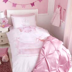 Kids Pretty Princess Collection Single Duvet Cover Set