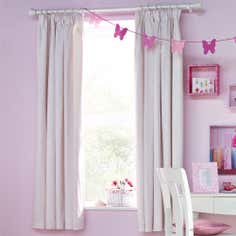 Kids Pretty Princess Collection Blackout Pencil Pleat Curtains