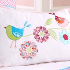 Kids Pink Songbird Collection Cushion