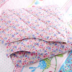 Kids Pink Songbird Collection Bedspread