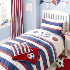 Kids Varsity Sports Collection Bedding Set