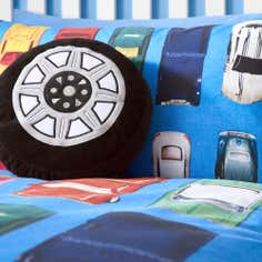 Kids Wacky Wheels Collection Cushion