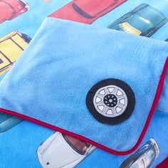 Kids Blue Wacky Wheels Collection Fleece