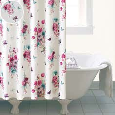 Flora and Fauna Collection Shower Curtain
