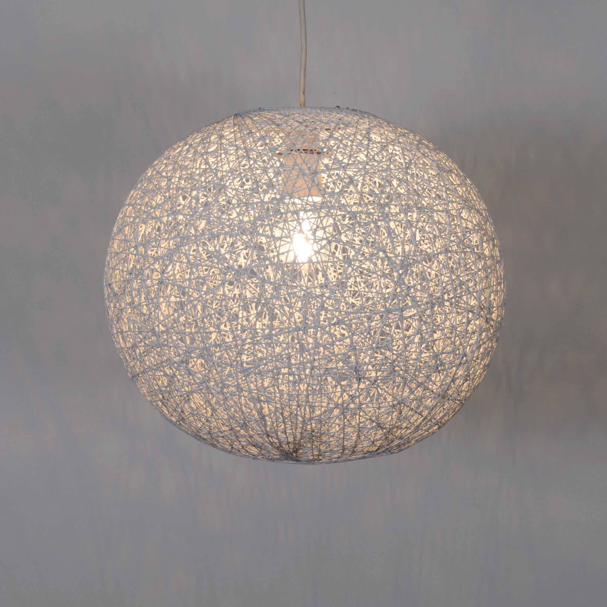 Large Abaca Ball Pendant
