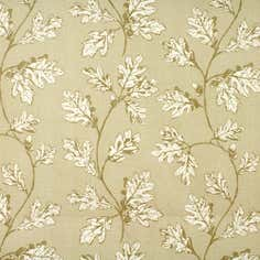 Natural Oak Leaf Fabric
