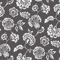 Charcoal Isabella Fabric