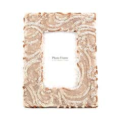 Blush Sequin Photo Frame