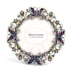 Flora and Fauna Collection Jewelled Photo Frame