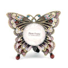 Flora and Fauna Collection Jewelled Butterfly Photo Frame