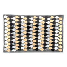 Jazz Age Collection Rectangle Mosaic Trinket Plate