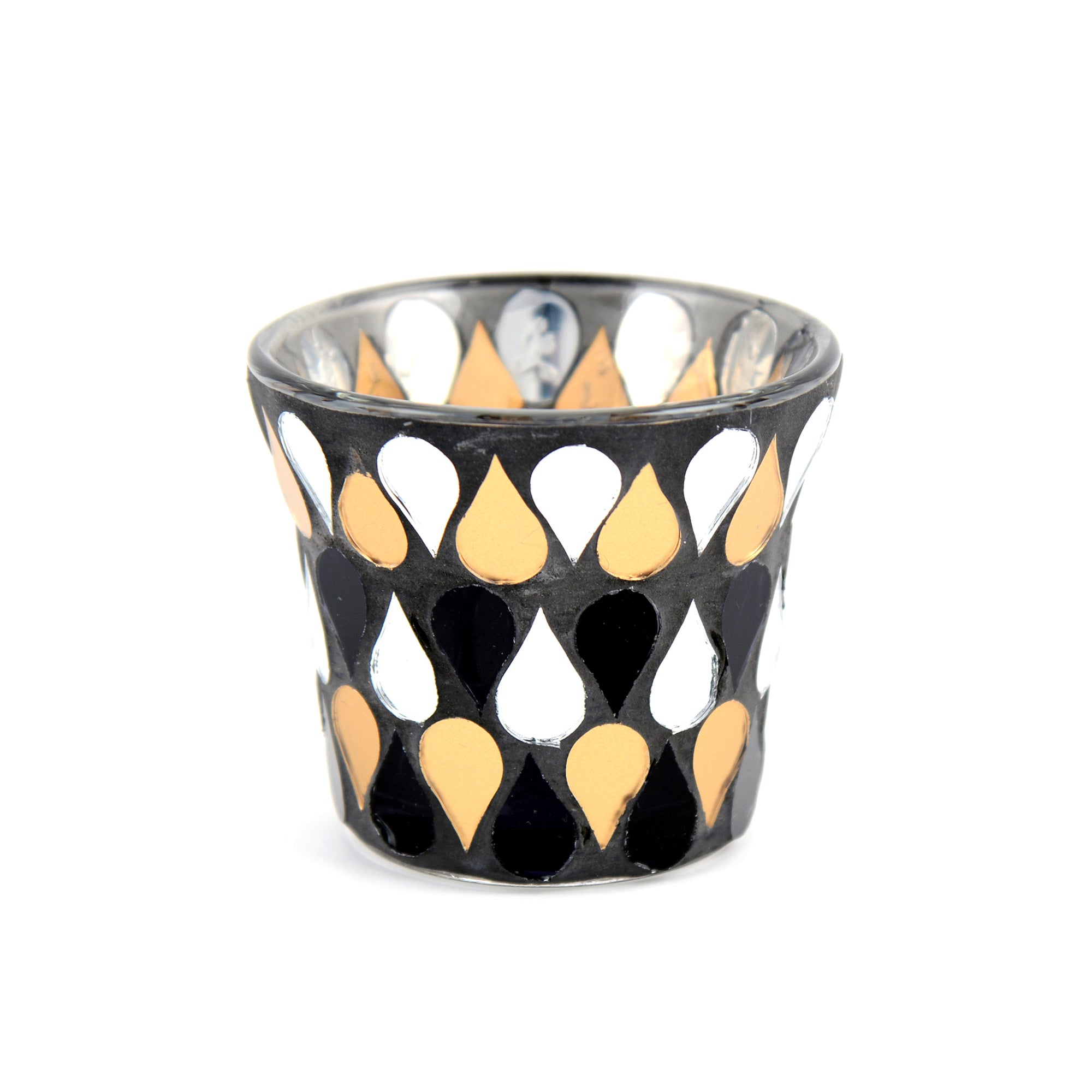 Jazz Age Collection Mosaic Tea Light Holder