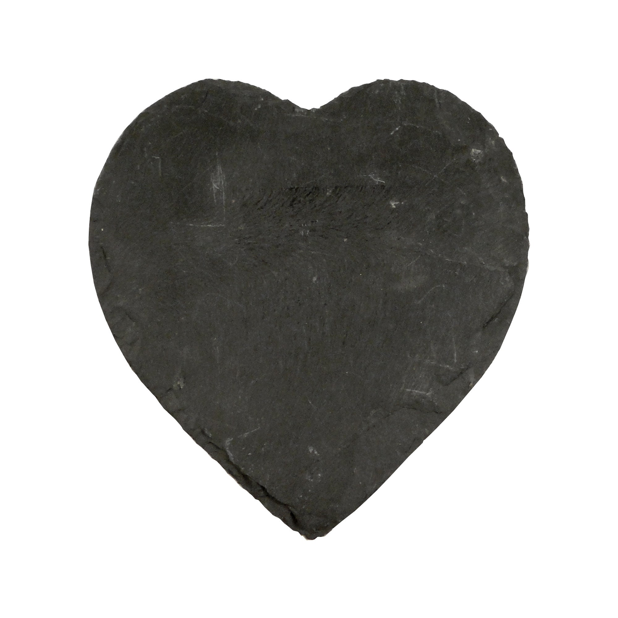 Core Collection Heart Slate Candle Plate