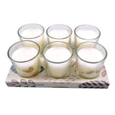 Cosy Skandi Collection Lingonberry Set of 6 Votive Candles