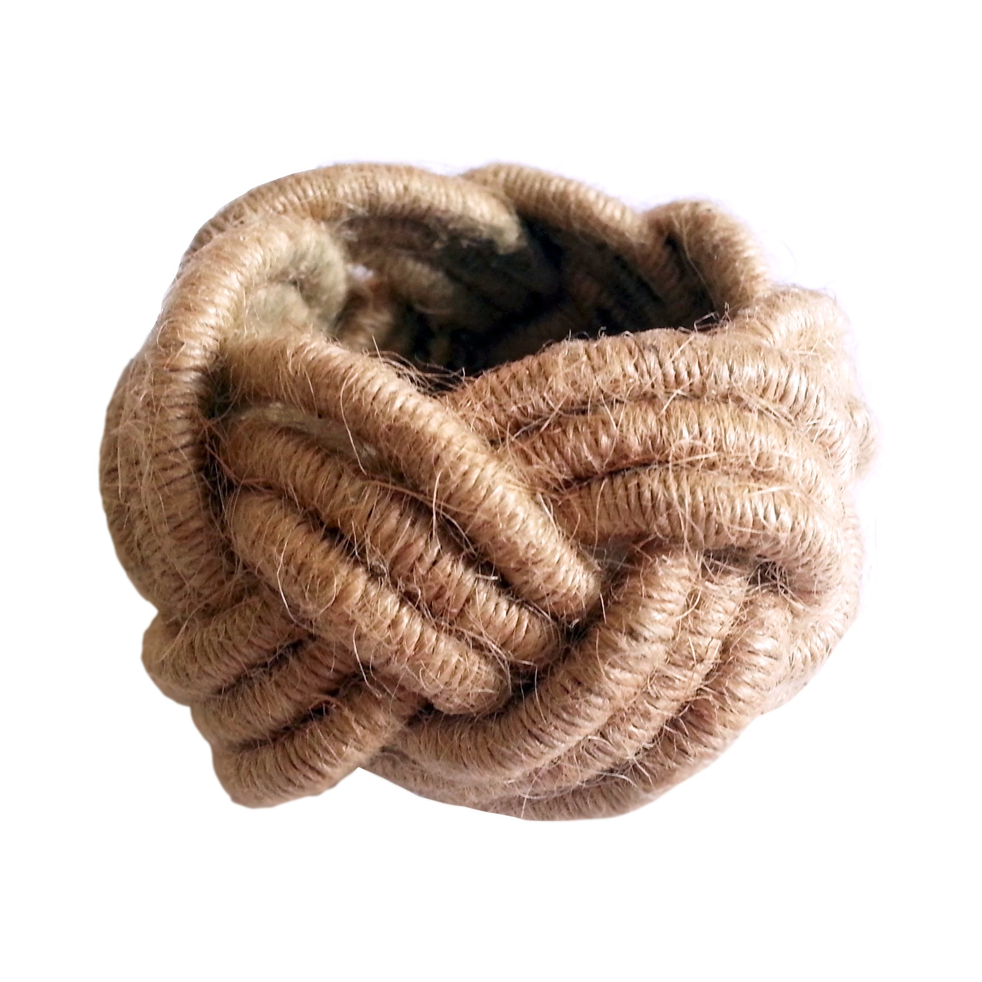 Rope Napkin Ring Brown