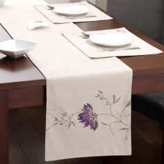 Plum Amelia Collection Table Runner