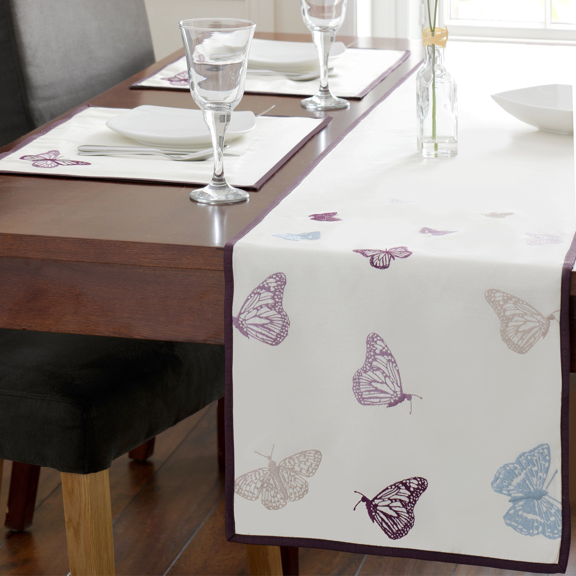 Flutterby Collection Table Runner