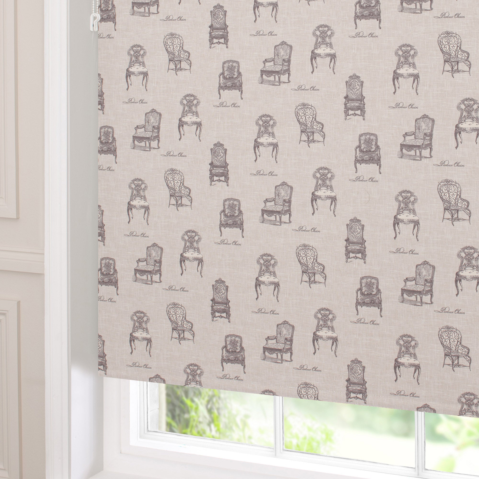vintage chairs blackout roller blind dunelm. Black Bedroom Furniture Sets. Home Design Ideas