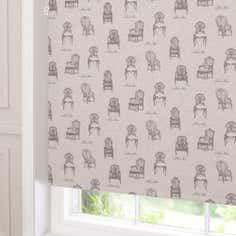Vintage Chairs Blackout Roller Blind
