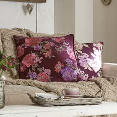 Plum Bloom Collection Cushion