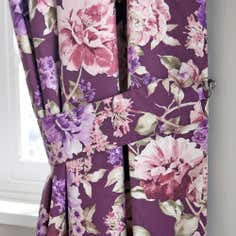 Plum Bloom Collection Tiebacks