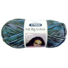 Fab 200g Mermaid Mix Acrylic Wool