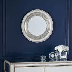 Beaded Edge Mirror