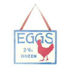 Eggs Wall Plaque