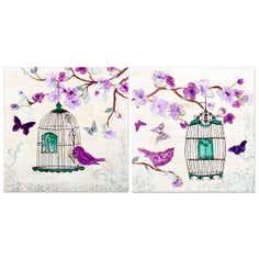 Birdcage Print Canvas