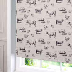 Farmyard Blackout Cordless Roller Blind