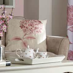Blush Hydrangea Collection Cushion
