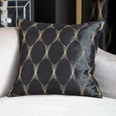 Black Jazz Cushion