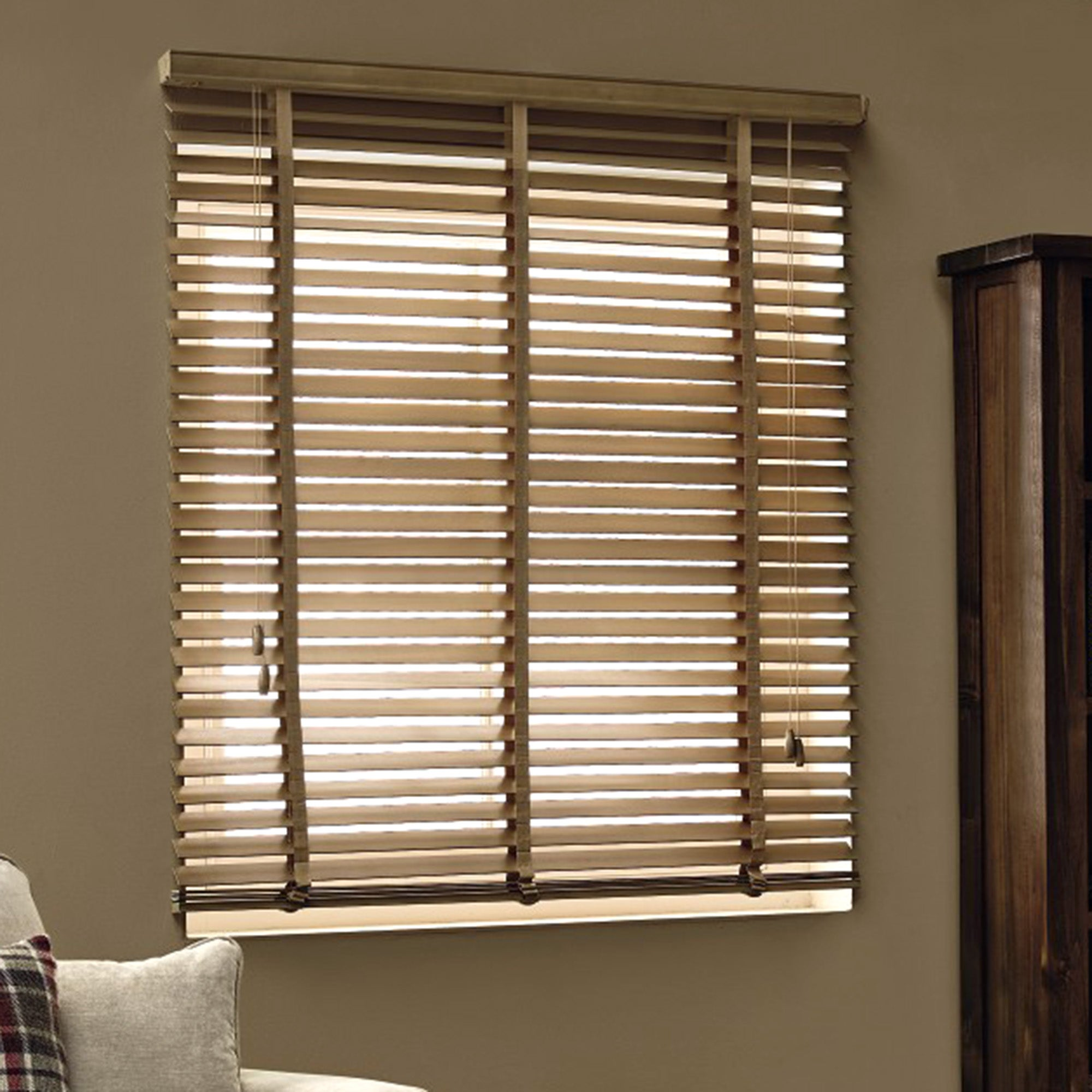 Oak 50mm Hardwood Blind