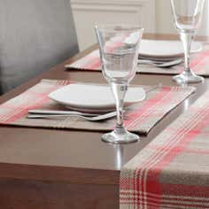 Tartan Rosso Placemat