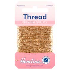 Light Gold Glitter Thread