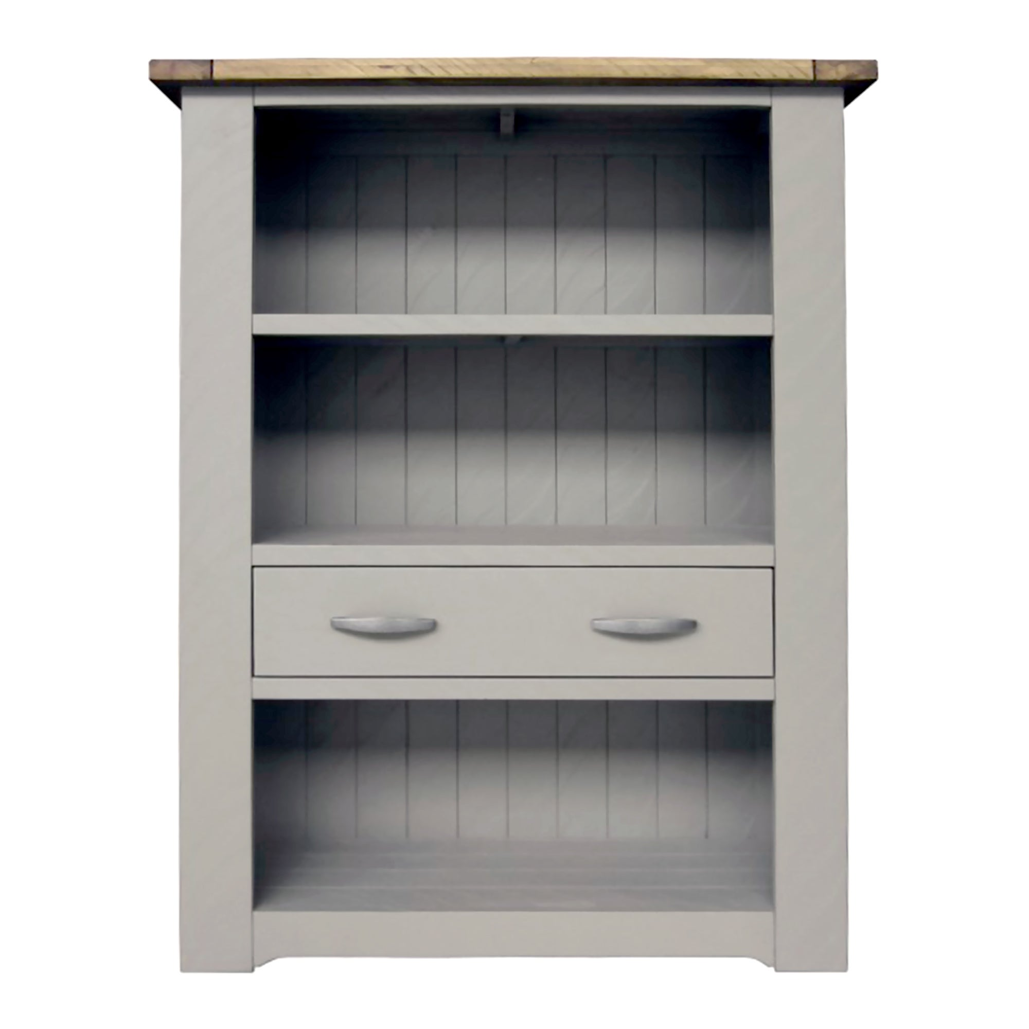 Loxley Grey Large Bookcase