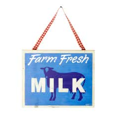 Milk Plaque