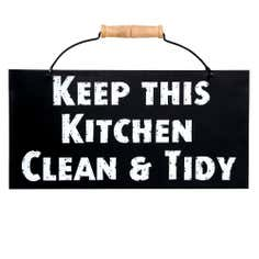 Keep This Kitchen Clean & Tidy Wall Hanging