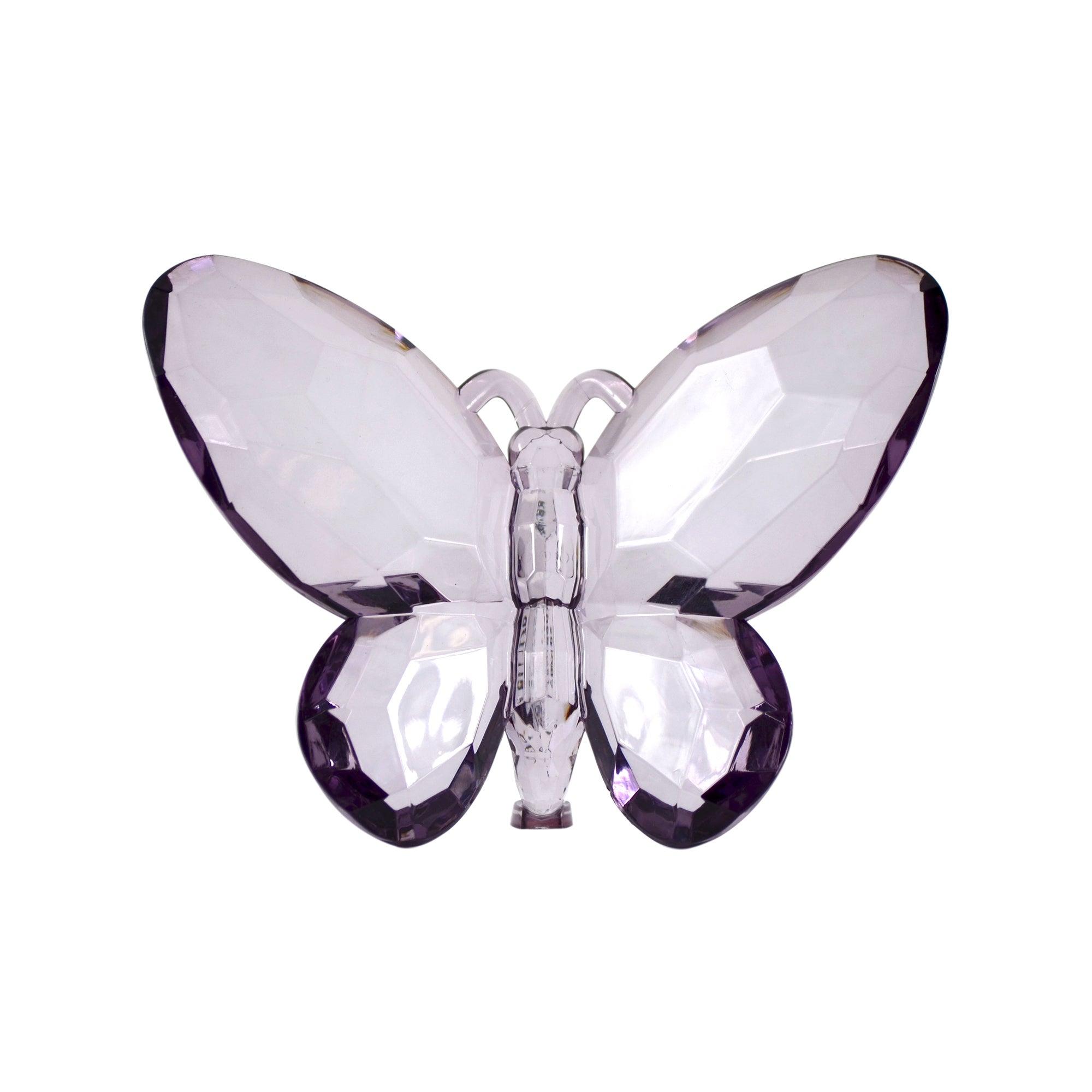 Mauve Decorative Butterfly