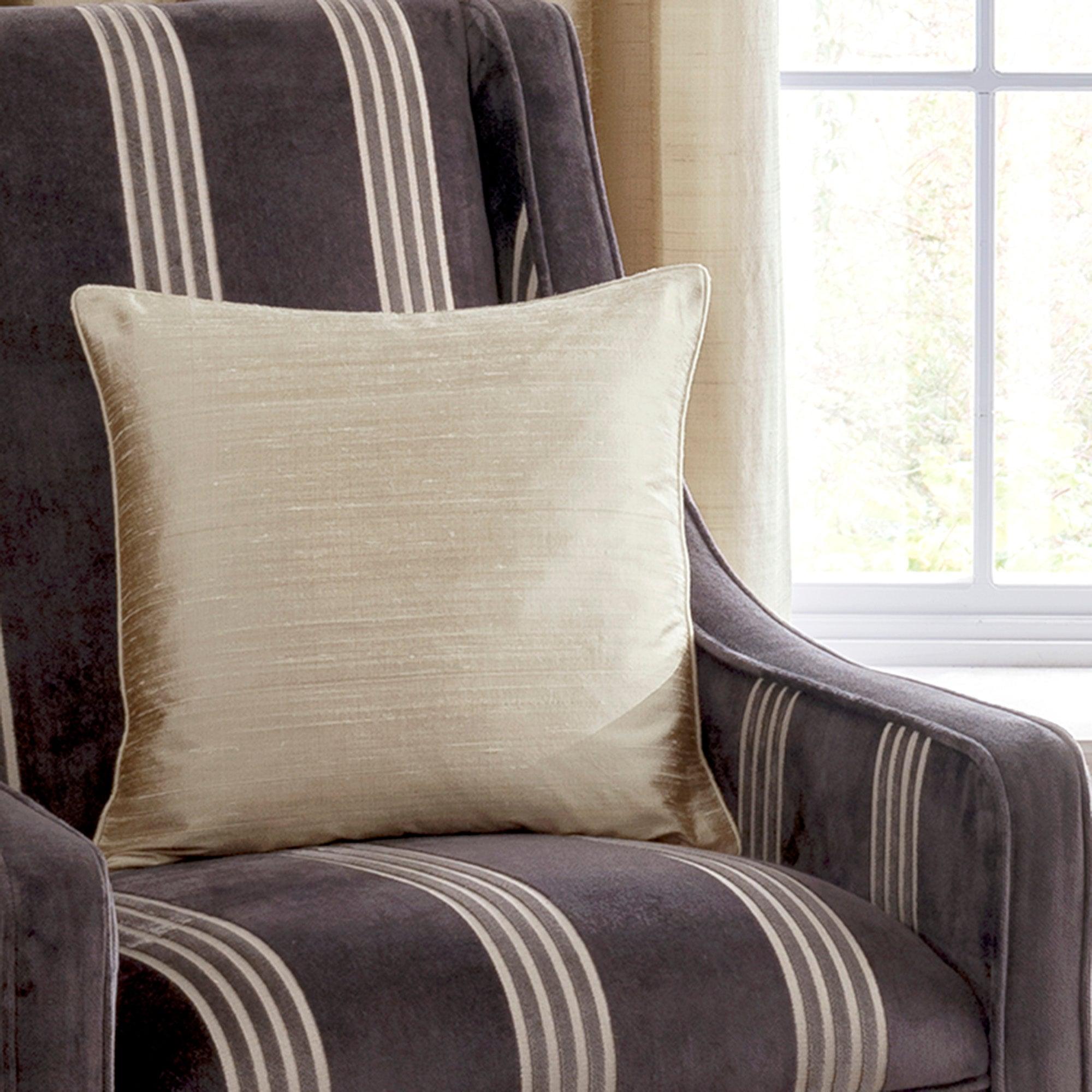 Dorma Champagne Beresford Collection Cushion