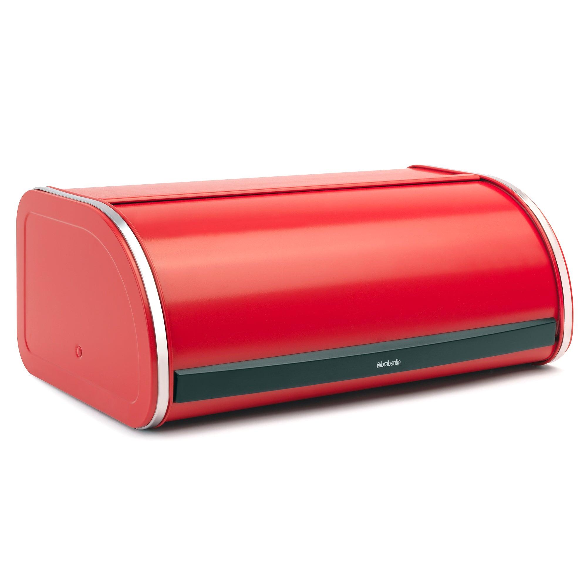Brabantia Red Roll Top Bread Bin