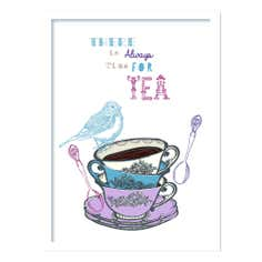 Always Time For Tea Framed Print