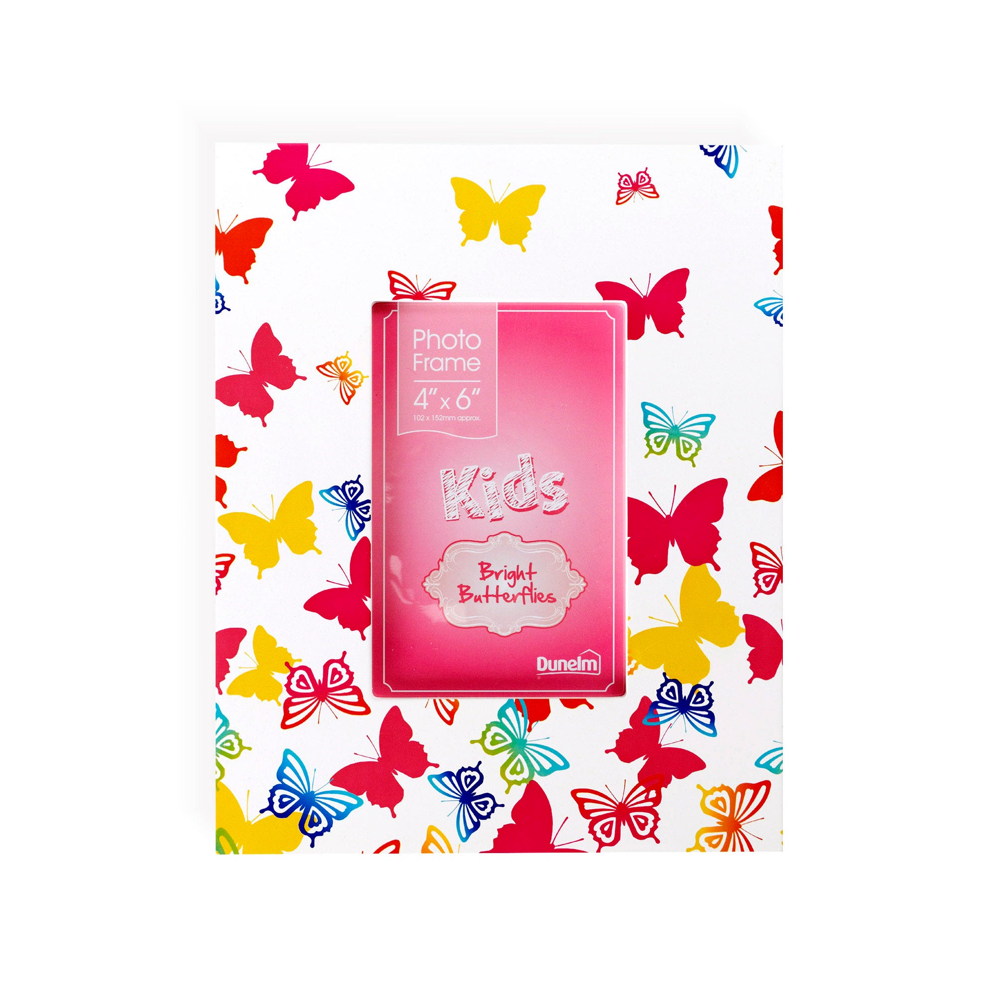 Kids Bright Butterflies Collection Photo Frame