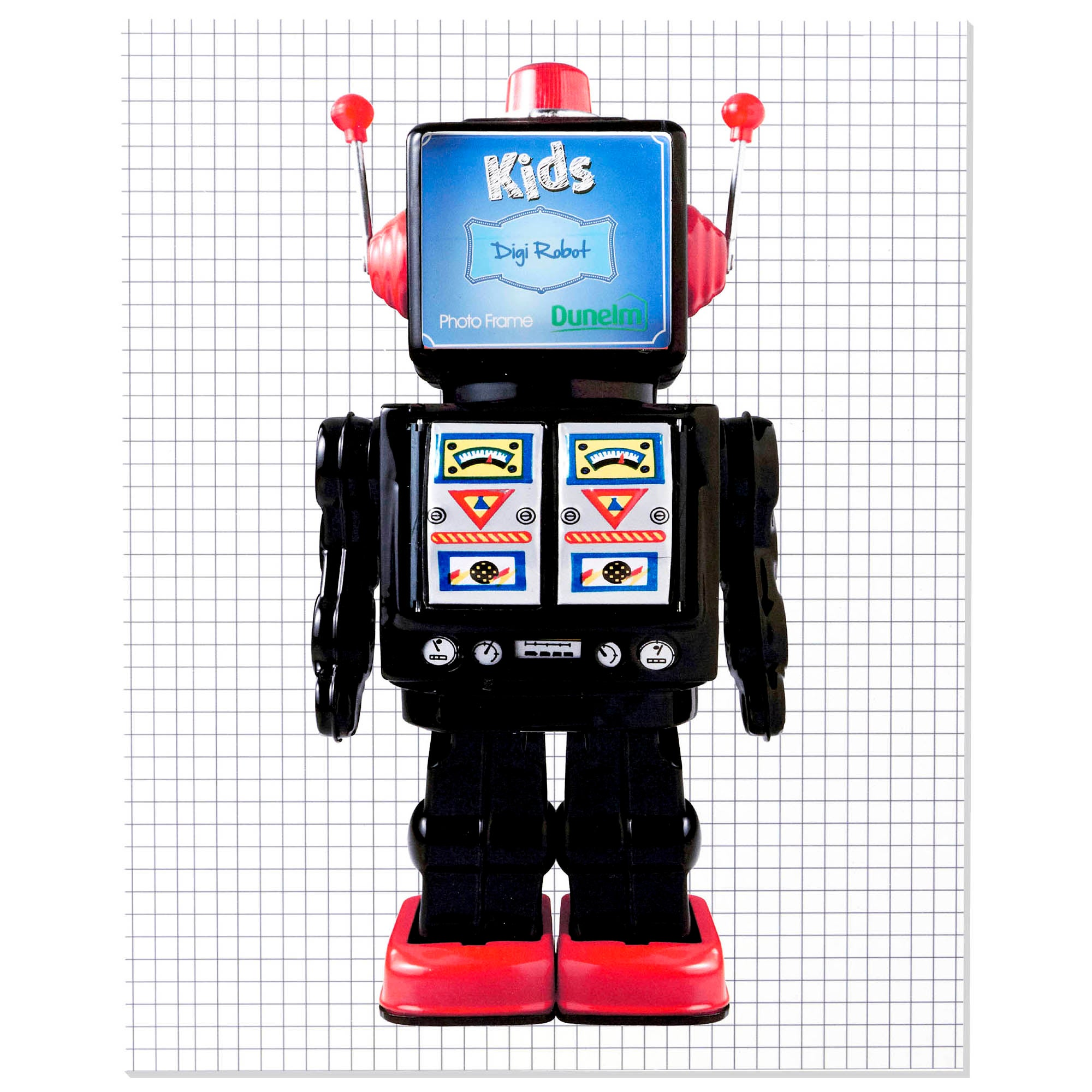 Kids Robot Collection Photo Frame