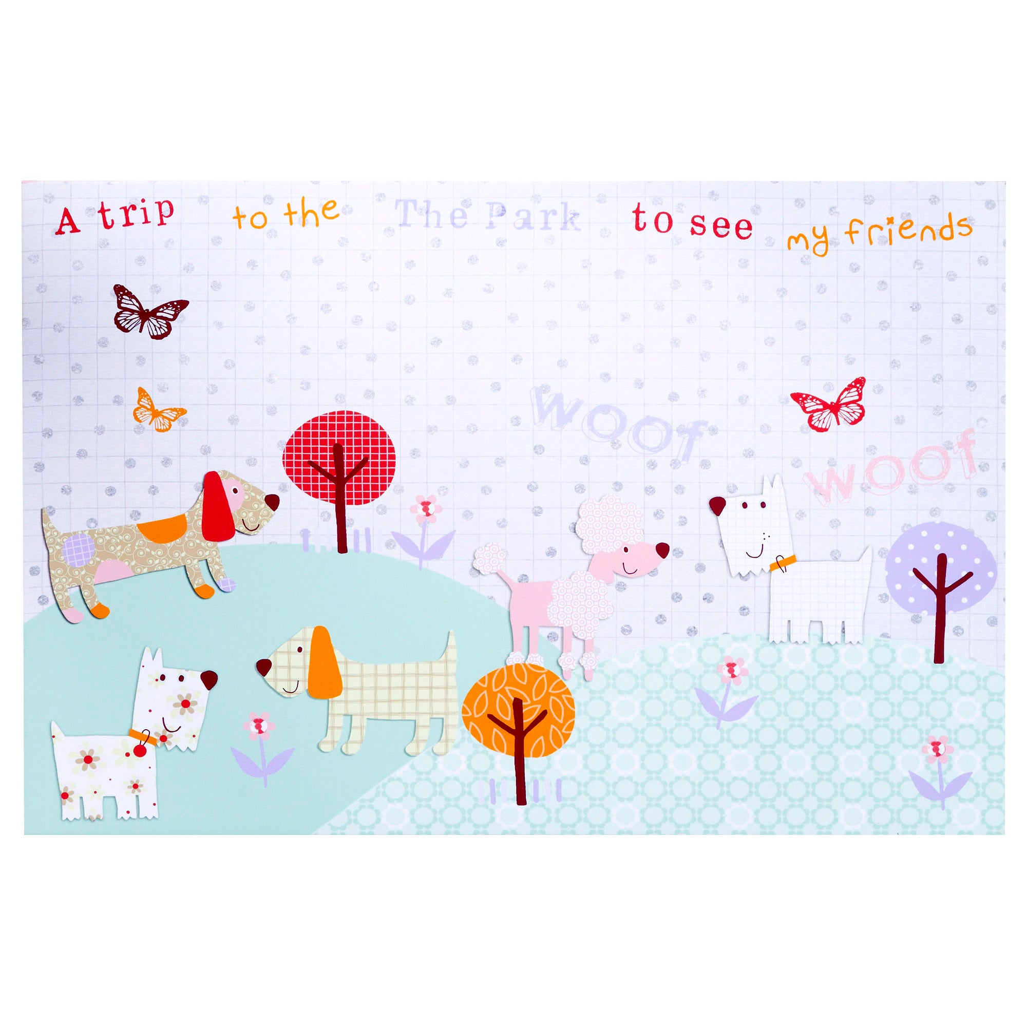 Kids Fifi and Friends Collection Printed Canvas