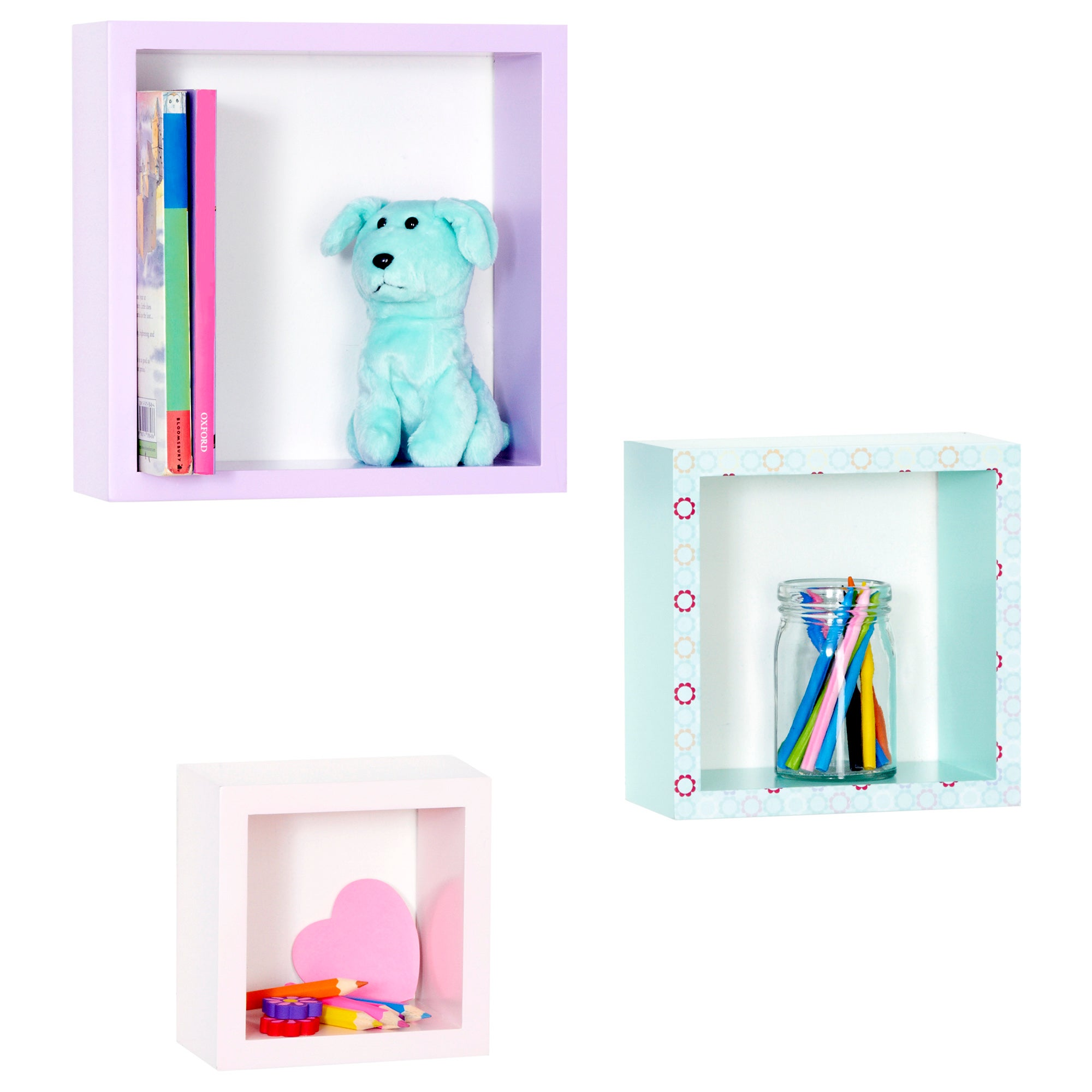 Kids Fifi and Friends Collection 3 Box Shelves