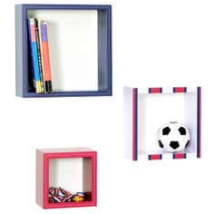 Kids Varsity Collection 3 Box Shelves